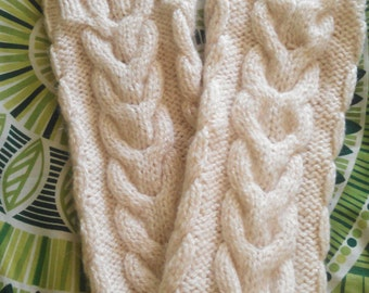Cozy Handmade Knit Leg Warmers