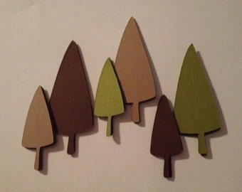 Woodland Forest Die Cut Outs!