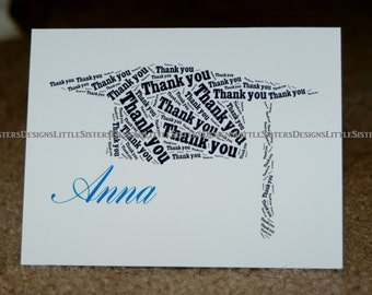 Personalized Graduation Thank You Notes