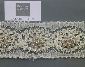 Narrow French lace with silver embroidery of Abdur Rahim Maerscot