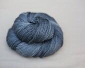 Fingering Weight Hand-Dyed Superwash Merino Wool Yarn: Harpoon Colorway