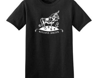 Elliott Smith t-shirt new vintage style concert tour ferdinand the bull choose size XS-3XL mens or ladies