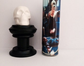 Bride of Chucky Tiffany Prayer Candle