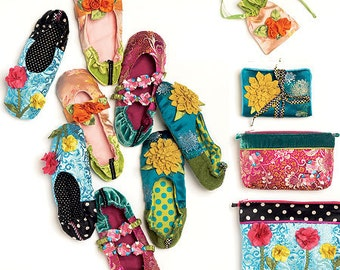 Slippers, Jewelry Pouch, Zippered Bags, Jewelry Case McCall's Pattern M6715