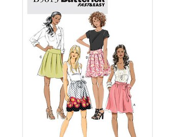 Misses' Skirt and Sash Butterick Pattern B5613
