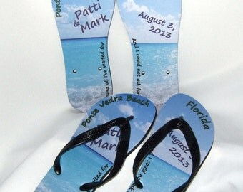 Custom flip flops - personalized just for you