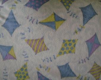 Flying Kite Fleece Blanket