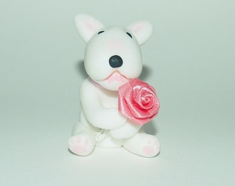 English Bull Terrier keepsake.