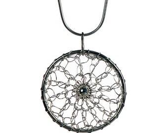 """Pendant  """"Lilli"""" in silver."""
