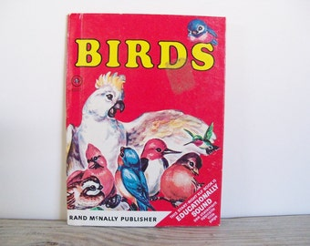 Birds Vintage Rand McNally Start Right Elf Book Children's Book Mabel Watts Marge Opitz 1967 No 8o90