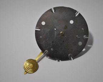 Vintage Electric Clock Movement With Pendulum