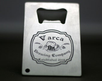 Custom Bottle opener with old fashion label design. Homebrew, Beer, Beer Gift , Beer Glass, fathers day gift,