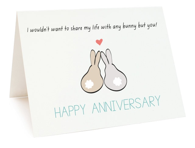 Doc.#16501275: Printable Wedding Anniversary Cards – Free