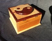Hand made Hardwood keepsake box for your jewelry or other treasures