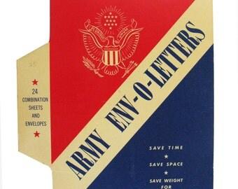 Army Env-o letters