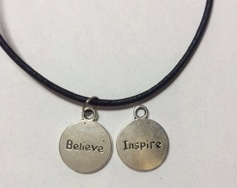 SALE* Believe/Inspire Choker (2 in 1)