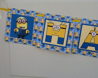 Minions Birthday Banner