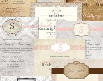 Custom Wedding Invitations/Programs