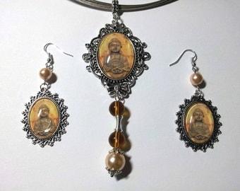 """Jewelry Set """"Buddha"""""""