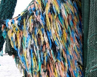 A Colorful Shrimp Net, Various Sizes, Includes Shipping to U.S. & Canada
