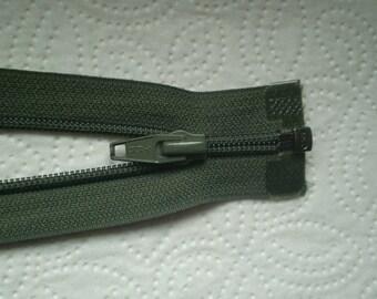 Vintage zipper divisible olive YKK zipper olive, Cremallera Tukur, fermuar zeytin, rose cipzár