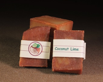 COCONUT LIME tropical soap