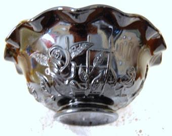 Ebony Rose and Trellis Bowl   by Westmoreland