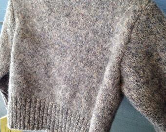 Childs wool argyle sweater size 3-24 months