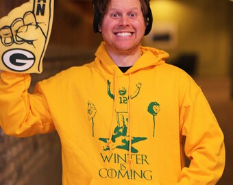 Brand new - Game of Thrones- Football-Packers- Aaron Rodgers Hoodie