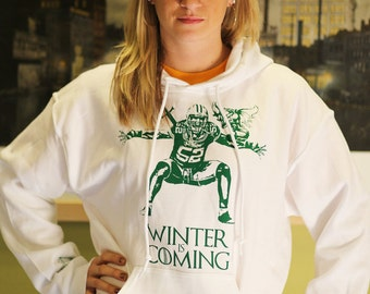 Brand new - Game of Thrones- Football-Packers- Clay Matthews Hoodie
