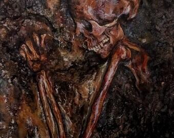 Memento Mori (Print of Original Painting)