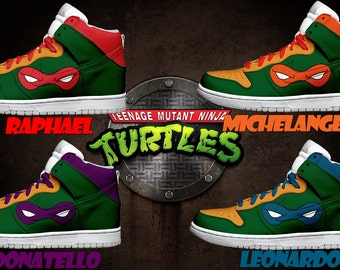 men 39 s light up teenage mutant ninja turtles shoes. Black Bedroom Furniture Sets. Home Design Ideas