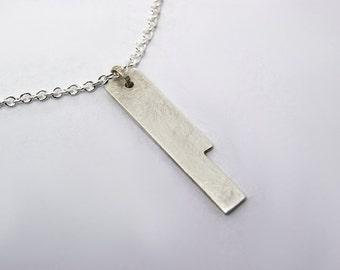 Handmade Silver Minimalist Necklace