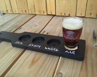 Chalkboard Beer Flight Paddle | Tasting Paddle