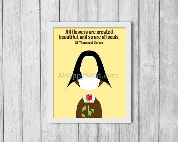 St Therese Print