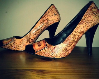 Narnia high heel shoes