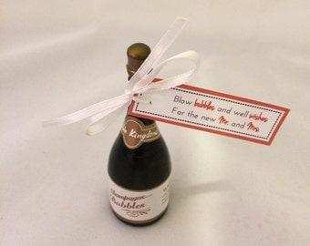 Wedding Bubble Tags, Coral, Printable Digital File, DIY, Custom Color