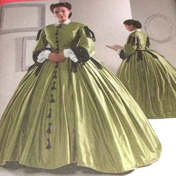 Civil War Ball Gown 2
