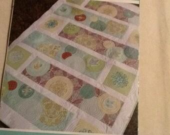 Soda Pop quilt pattern with great modern fabrics