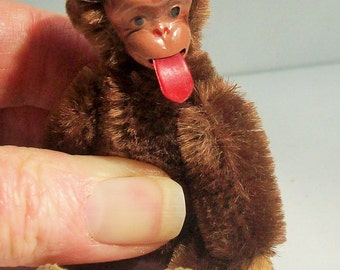 Schuco Vintage Monkey / Blecky / Fully Operational / Nice Tongue