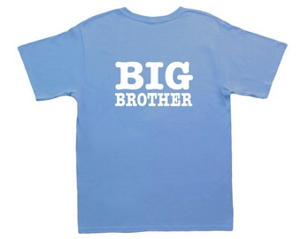 Big Brother Shirt, Big Bro, Big Little Shirts, Big Brother T-Shirt, Big Bro T-Shirt, Sibling Shirts, Boys clothing