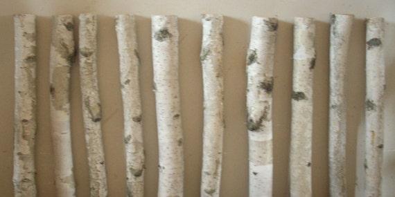 White birch mini logs 2 birch crafts decorating by forestdecor for White birch log crafts