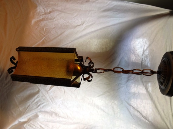 Spanish Revival Hanging Light Fixture