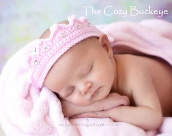 Princess/Prince Crown with Jewels Photography prop Newborn