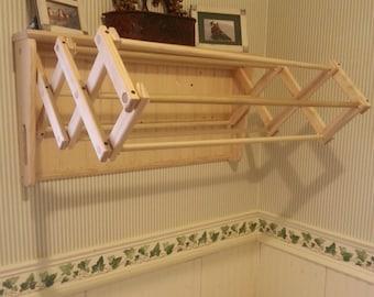 Wall Mounted Adjustable Drying Rack