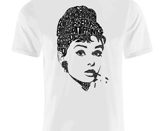 Audrey Hepburn Type Shirt