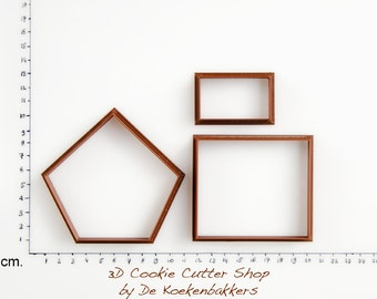 3D Bird House #2 Cookie Cutter Set