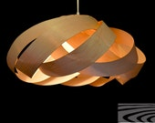 Beautiful NEST Pendant light,made of real maple,pendant lamp for dining room and bedroom, modern style,natural wood lamp, hanging lamp,home