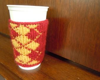 Coffee Cozy - Hogwarts Argyle