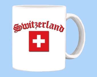 Switzerland National Flag Mug
